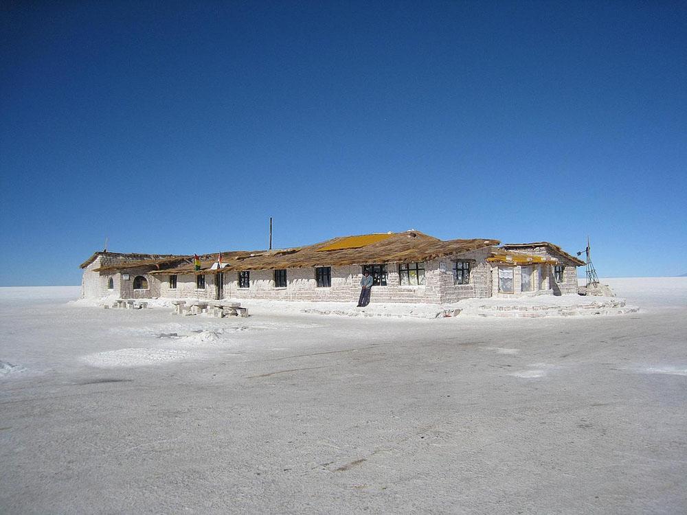 Bolivia hotel di sale a Uyuni