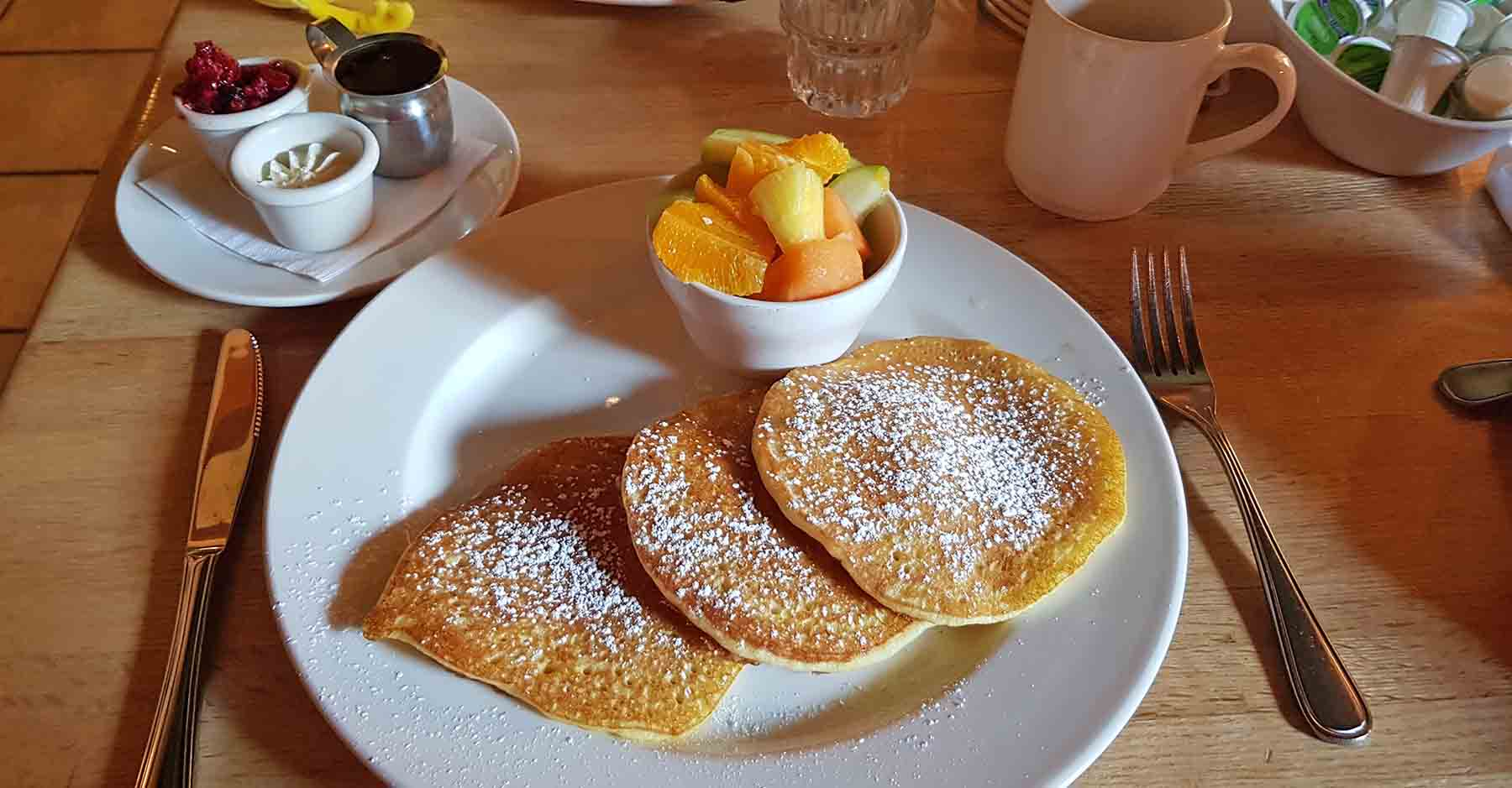 parco nazionale banff canada breakfast
