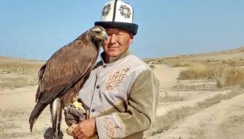 caccia con le aquile asia centrale