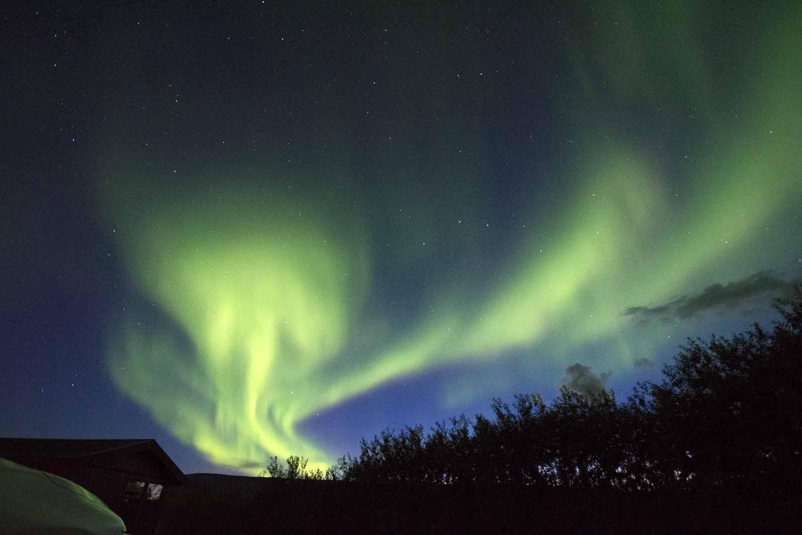 islanda aurore